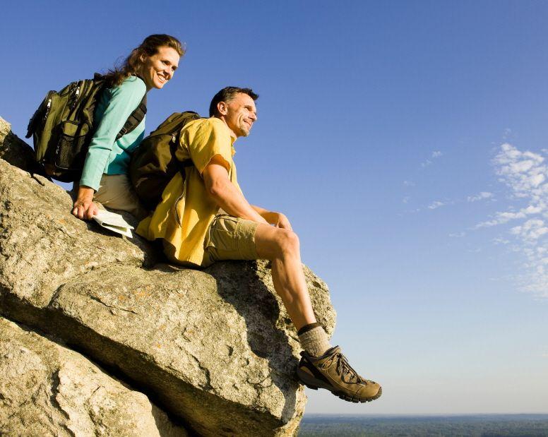 Couple on Overlook